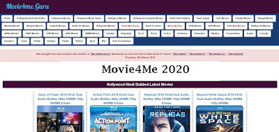 Movie4Me- 2020 Bollywood Hollywood HD Movies Download