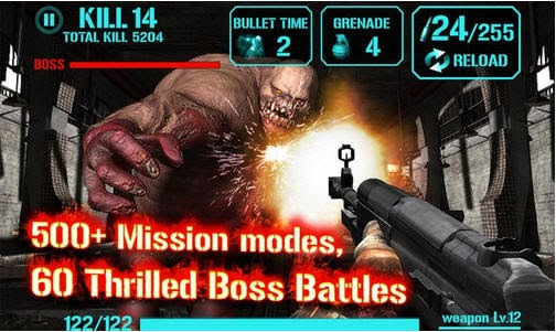 Gun Zombie: Hellgate for Android Apk free download