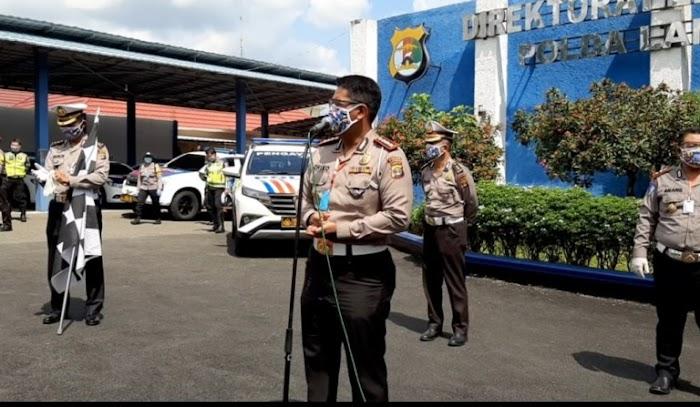 Ditlantas Polda Lampung Tetapkan Tujuh Pos Penyambungan antar Provinsi