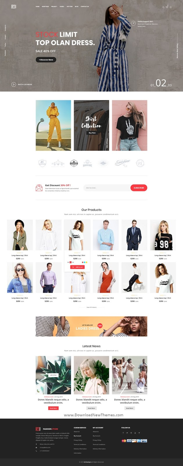 Premium Multipurpose eCommerce PSD Template