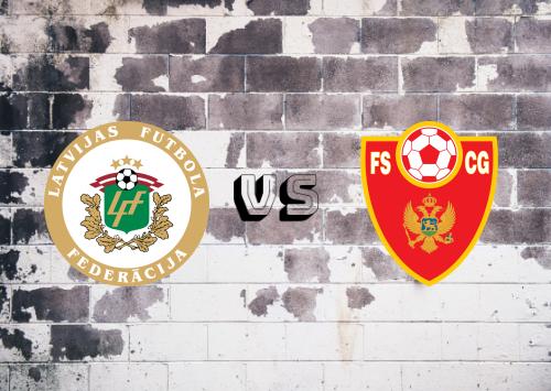 Letonia vs Montenegro  Resumen