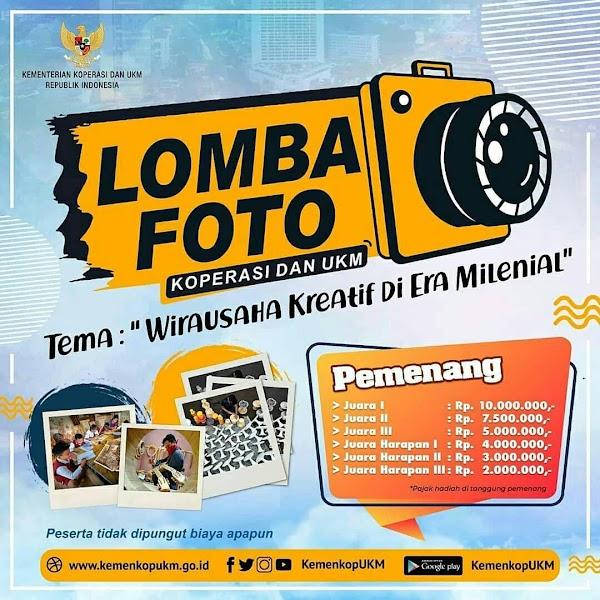 Lomba Foto - Kementrian Koperasi Dan UKM