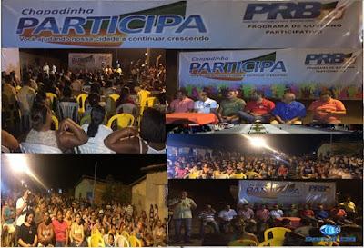 PRB/Chapadinha realiza 2ª Plenária do PARTICIPA - Plano de Governo Participativo nas Mil Casas