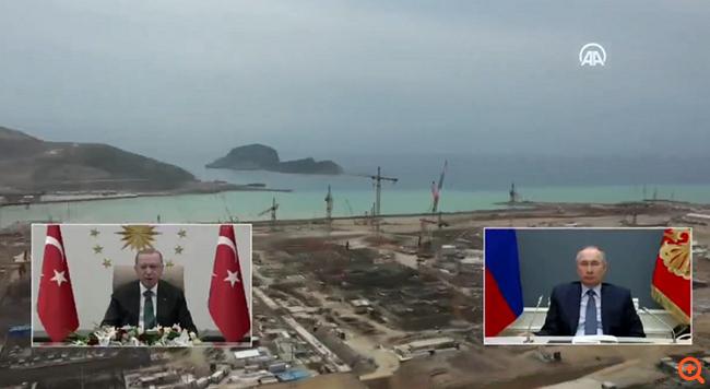 Φιέστα Ερντογάν για τον πυρηνικό σταθμό στο Ακουγιού