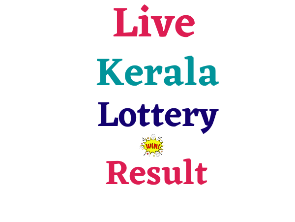 Live Kerala Lottery Result Today