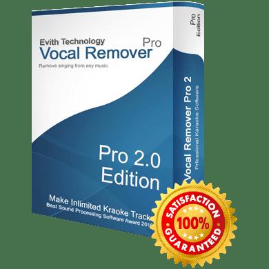 Vocal Remover Pro v2.0 Full version