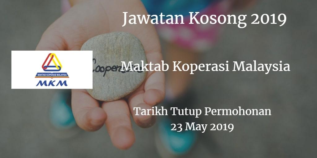 Jawatan Kosong MKM 23 May 2019