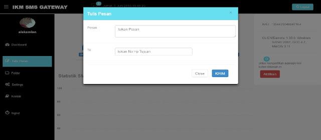 Code Program SMS Gateway Menggunakan PHP Mysql