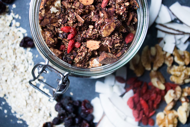 Vegan Granola Recipes Healthy