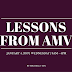 Lessons from AMV