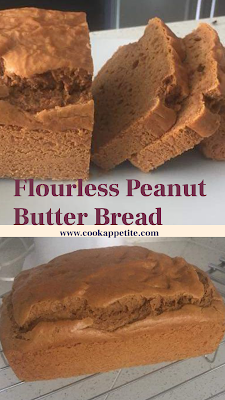 Flourless Peanut Butter Bread