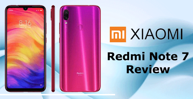 Redmi Note 7 price,specification and review