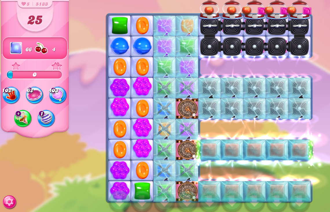 Candy Crush Saga level 5133