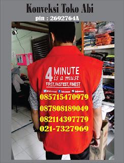 Jasa Pembuat Rompi Di Tangerang