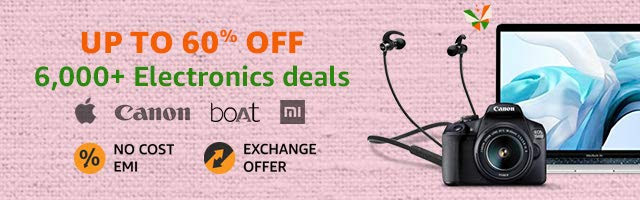 amazon great indian sale electronics