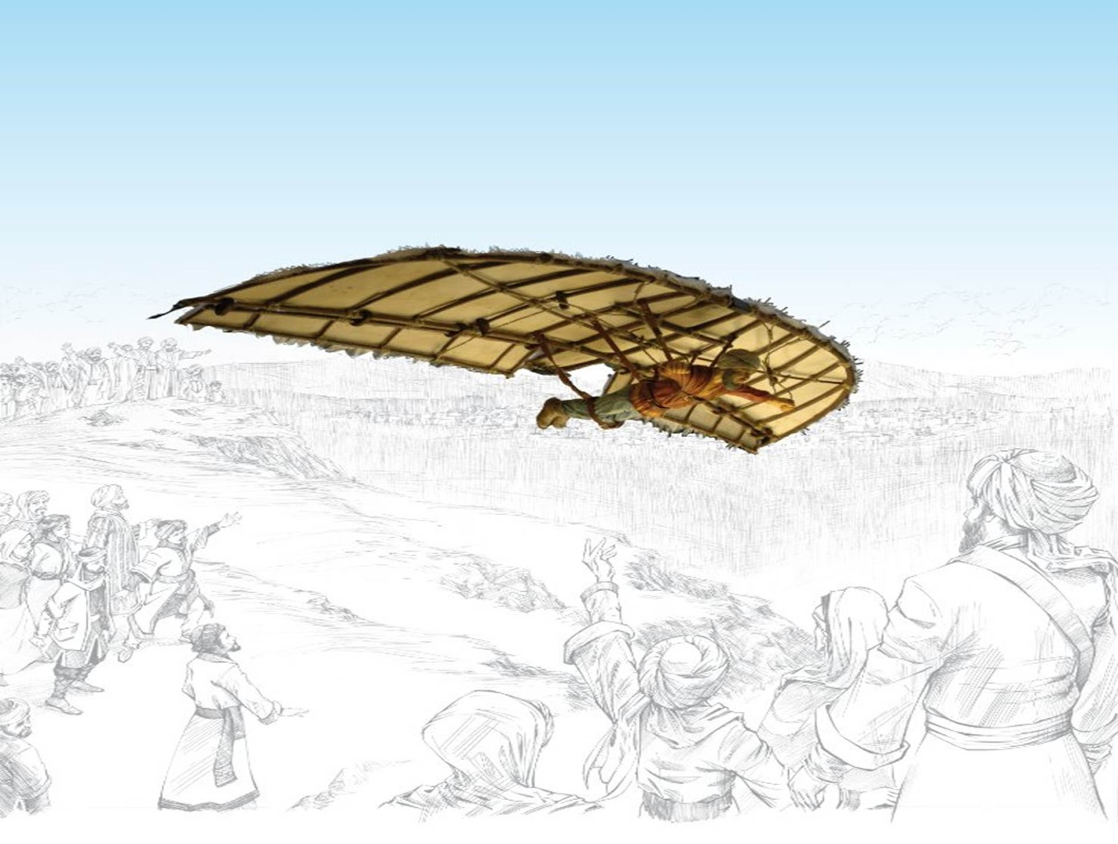 عباس بن فرناس و أول طيران شراعي في التاريخ !