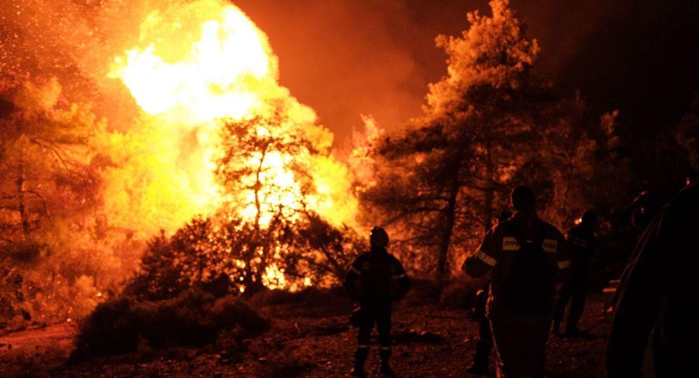 Συνεχείς αναζωπυρώσεις στην Εύβοια - Δύσκολη η κατάσταση του πύρινου μετώπου - Βίντεο