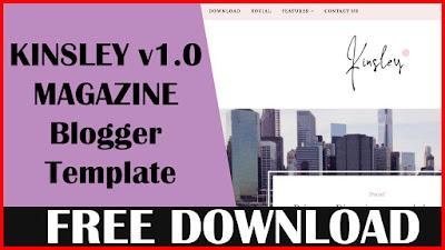Kinsley-v1.0-Responsive-Minimal-Blogger-Template-Free