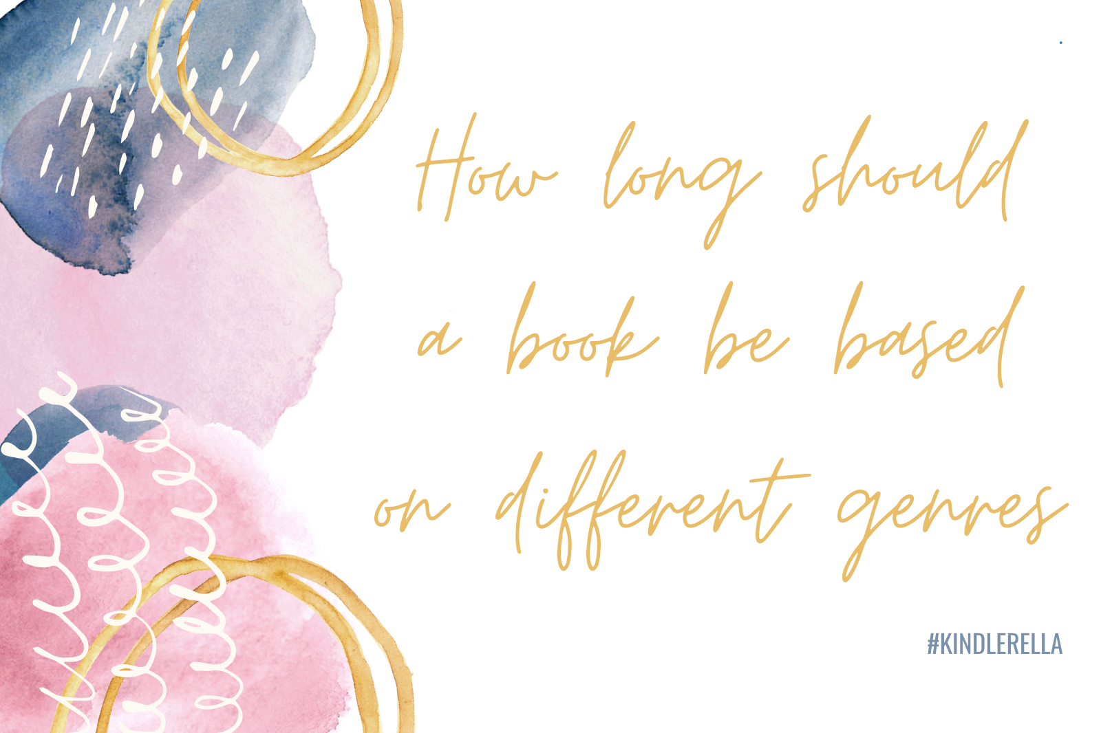 How long should a novel be based on different genres