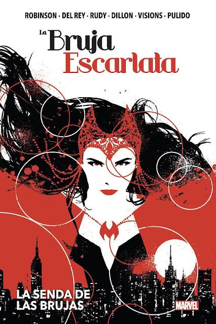 Review del cómic La Bruja Escarlata: La senda de las brujas - Panini Cómics