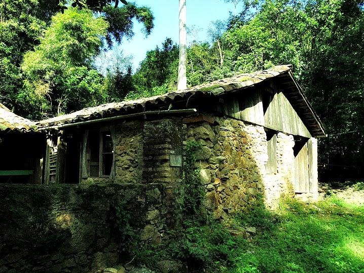 Engenho de farinha do período colonial na Costa da Lagoa da Conceição
