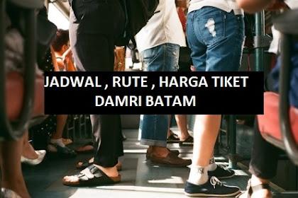 Waktu dan Harga Tiket Bus Damri Batam