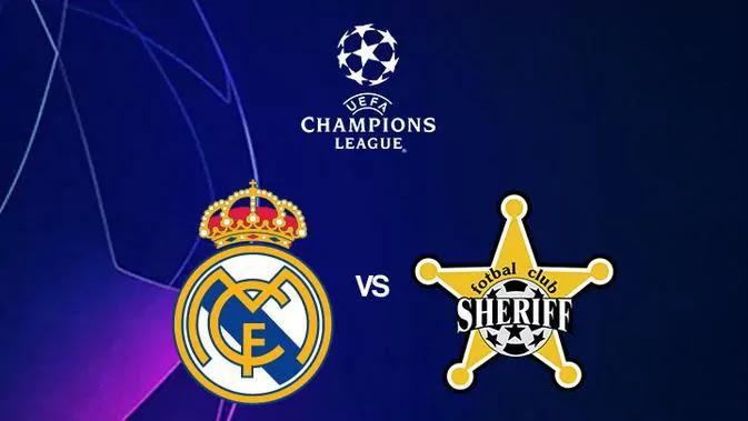 Link Live Streaming Real Madrid vs Sheriff Tiraspol