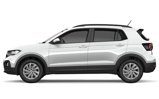 VW T-Cross Sense 2021 para PcD chega por R$$ 69.990