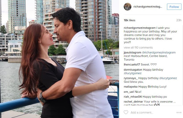 Richard Gomez Gave A Touching Birthday Message To Wife Lucy Torres! Find Out What He Said Here!