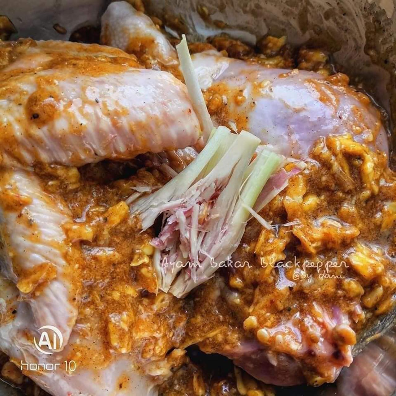 Resipi Ayam Bakar Sihat