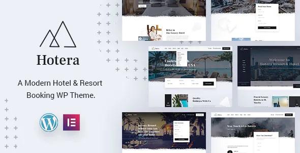 Best Resort and Hotel WordPress Theme