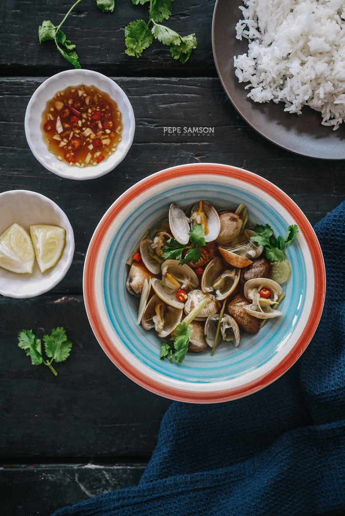 Travel Through Food: Vietnamese Clams in Lemongrass Broth