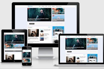 Download Template Blogger Inka Story v1 dan v2 Premium Original