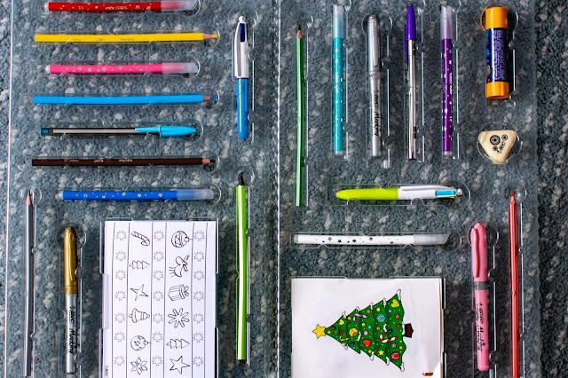 All the contents behind each advent calendar door