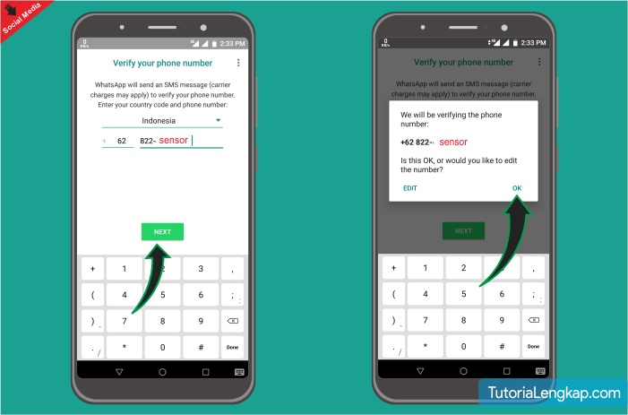 cara membuat whatsapp di android tutorialengkap