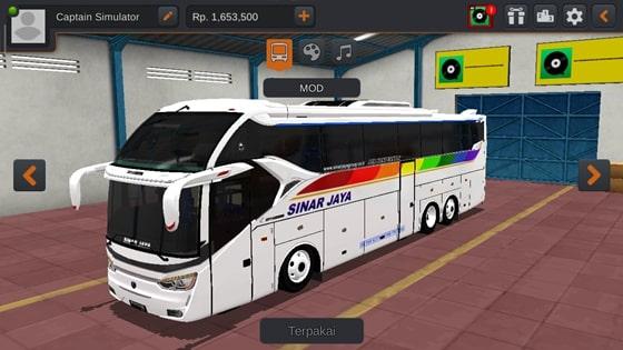 Livery SR2 XHD Scania K410 Sinar Jaya