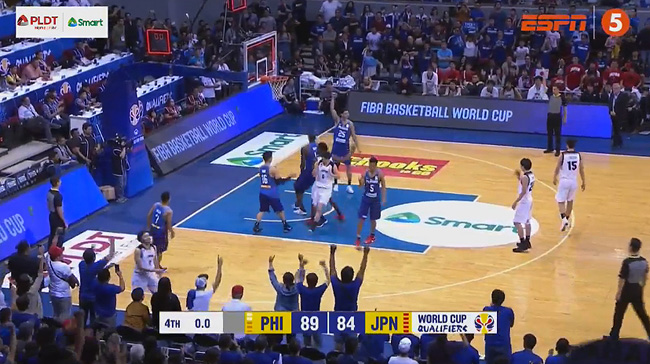 Gilas Pilipinas def. Japan, 89-84 (REPLAY VIDEO) February 25 | FIBA World Cup Asian Qualifiers