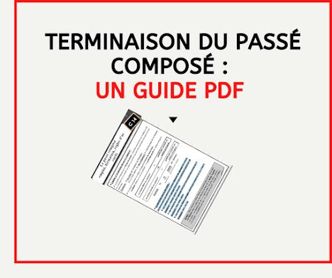 Terminaison du passé composé : un guide PDF