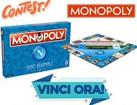 Logo Vinci gratis il Monopoly SSC Napoli