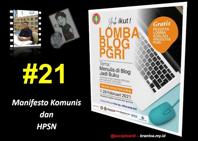 #21 – Manifesto Komunis dan HPSN