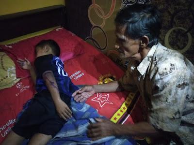 Dua Bocah di Pringsewu Diduga Dianiaya Ayah Kandungnya