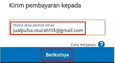 Email Penerima Dollar
