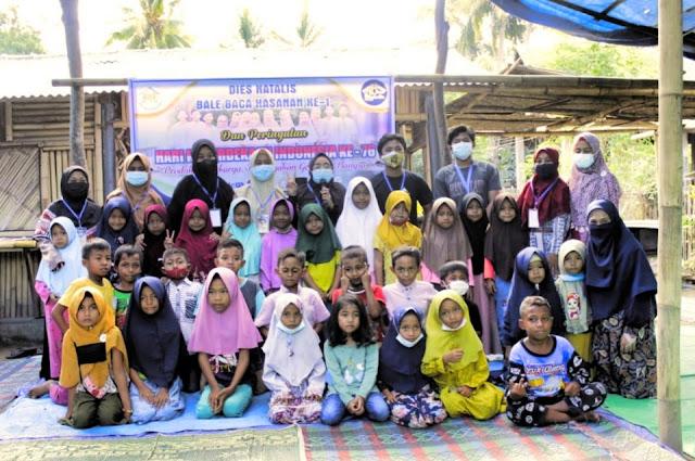 BBH sebagai solusi menumbuhkan minat baca anak-anak lokal