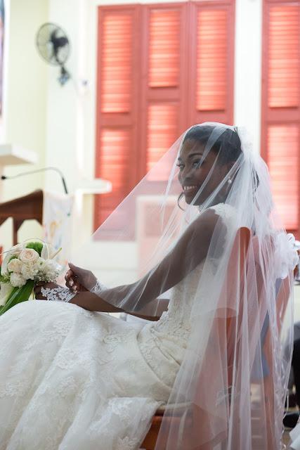 mariage église de Baie-Mahault