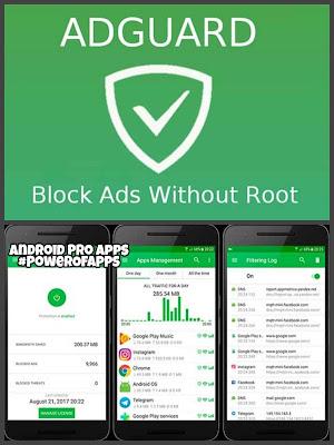 تطبيق حظر الاعلانات Ad blocker