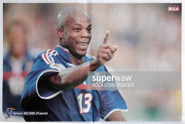 SYLVAIN WILTORD OF FRANCE ON EURO 2000