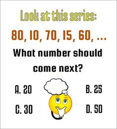 What Number Comes Next in Series?