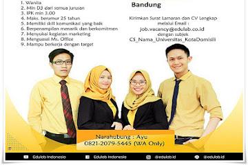 Lowongan Kerja Customer Service Bimbingan Belajar Edulab Bandung