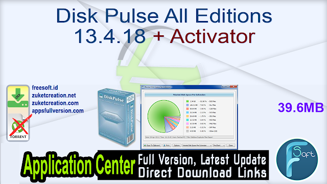 Disk Pulse All Editions 13.4.18 + Activator