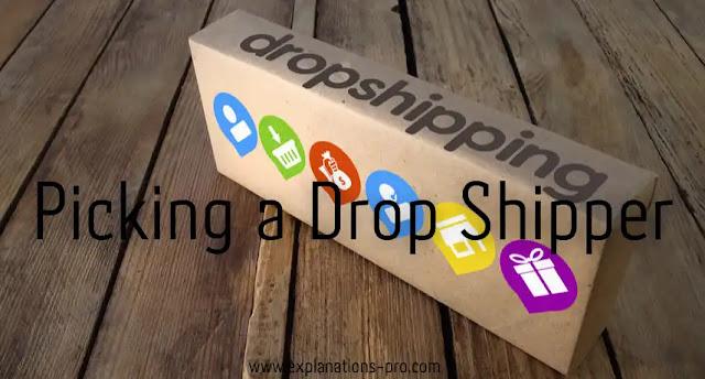 Picking a Drop Shipper
